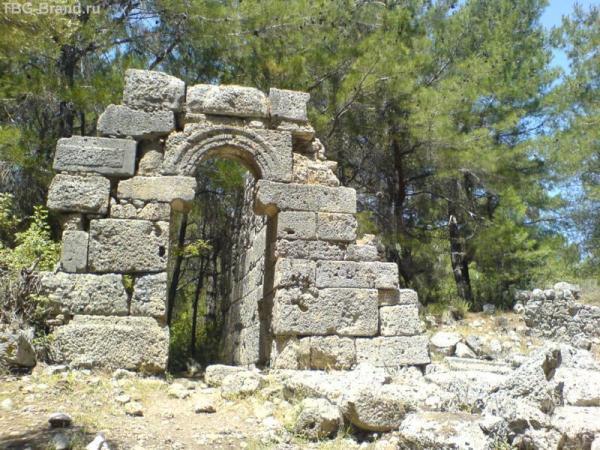 Фазелис руины 2