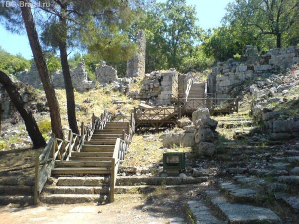 Фазелис. Лестница в античный театр