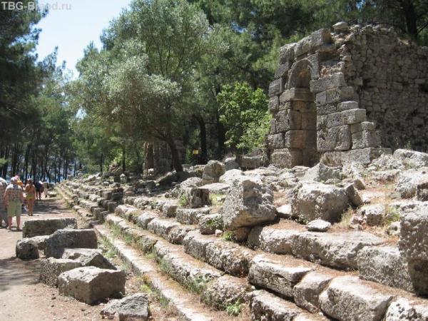 Фазелис руины 5
