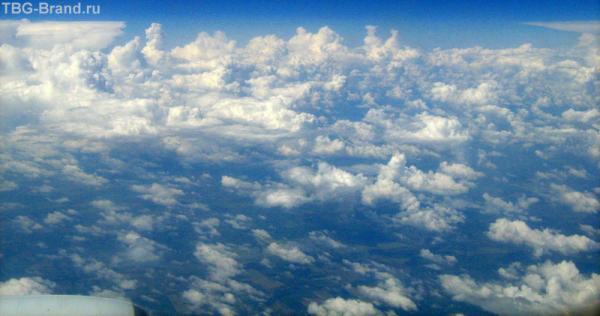 Из самолета
