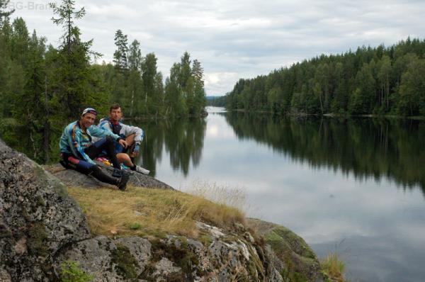На границе с Норвегией