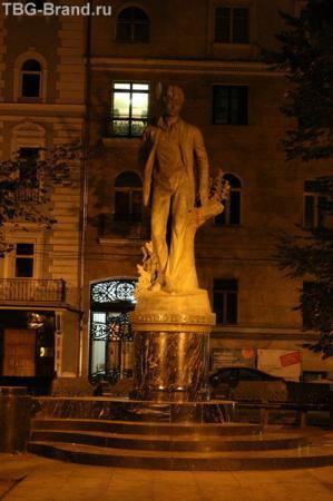 Тверской бульвар, Памятник С.Есенину