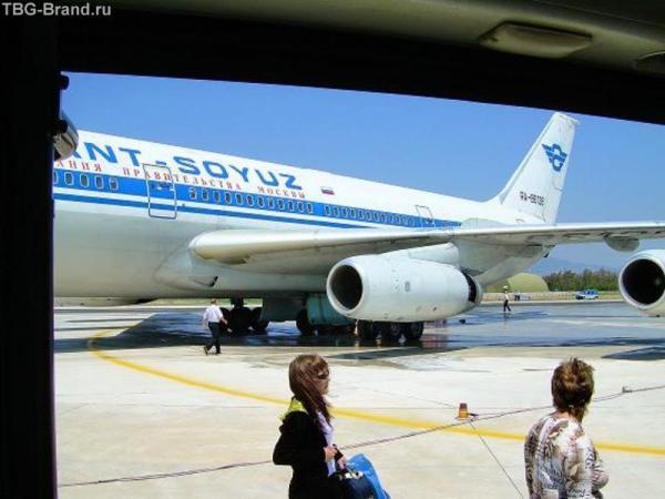 вот он этот самолет