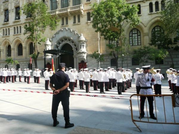 Парад на улицах Мадрида