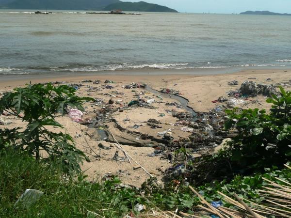 бывают и такие пляжи
