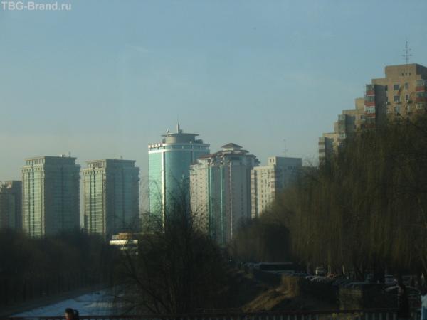 Этот район мне чем-то напомнил Москву)