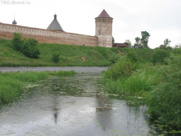 Стены Спасо-Евфимиевского монастыря