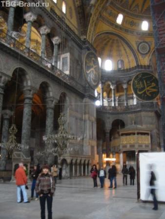 Софийский собор внутри
