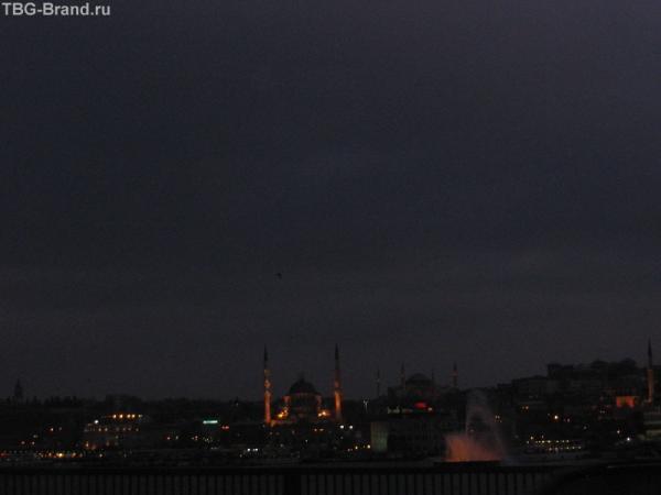 Стамбул с Галатского моста