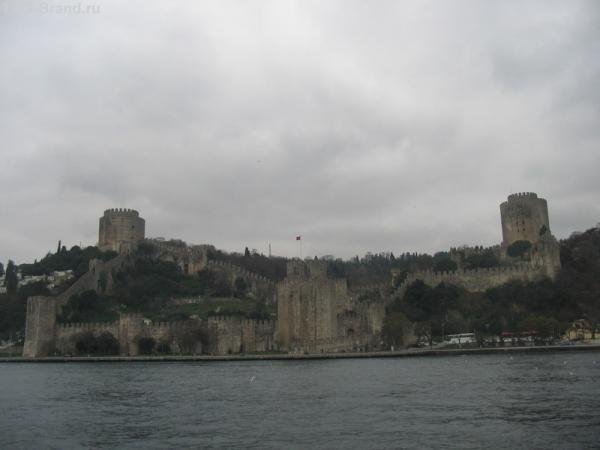 Крепость. Вид с Босфора