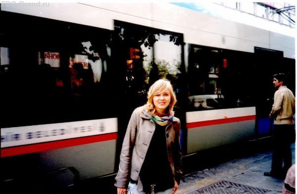 Local tram. Стамбул 2004