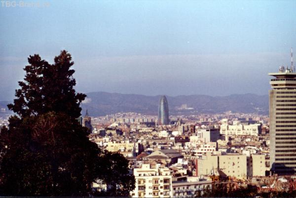 Обзорная Барселоны