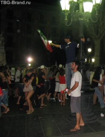 ПОБЕДА Италии на чемпионате Европы 2006