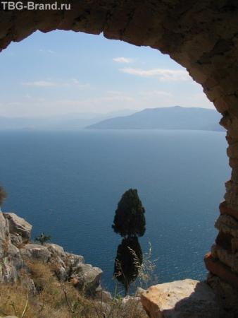 Город сказка, город мечта. Вид с крепости Паламиди
