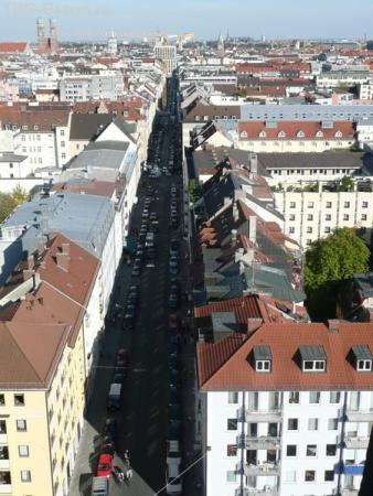 Вид на Мюнхен с Св.Петра
