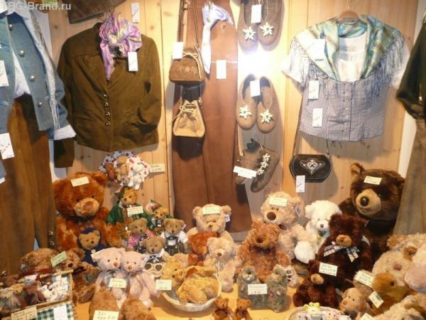 Медвежат там очень любят!!!