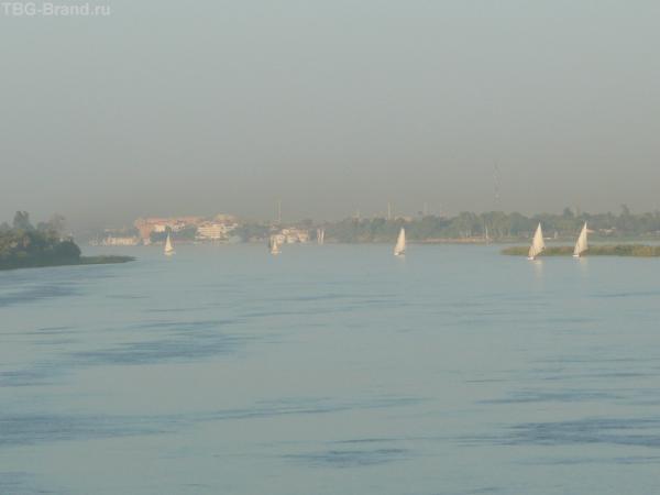 Луксор, Нил