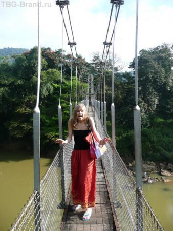 а на мосту-то страшно!