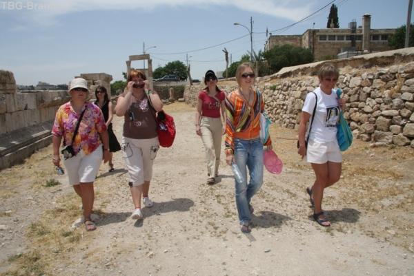 Гуляем по историческим местам Аммана, ищем Вовчика