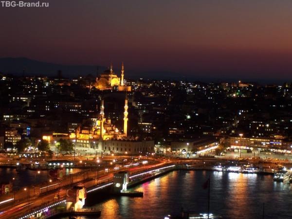 и вот он, вечерний Стамбул