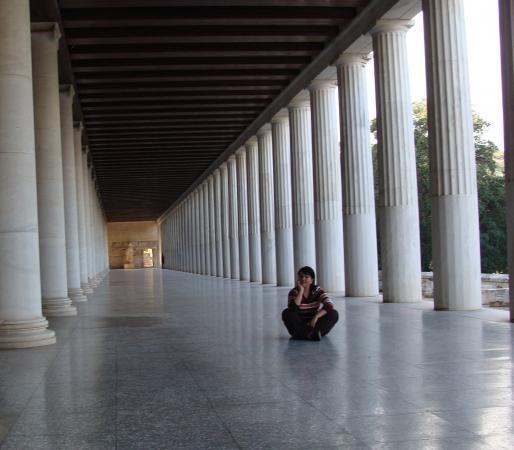 Колонны в Афинах