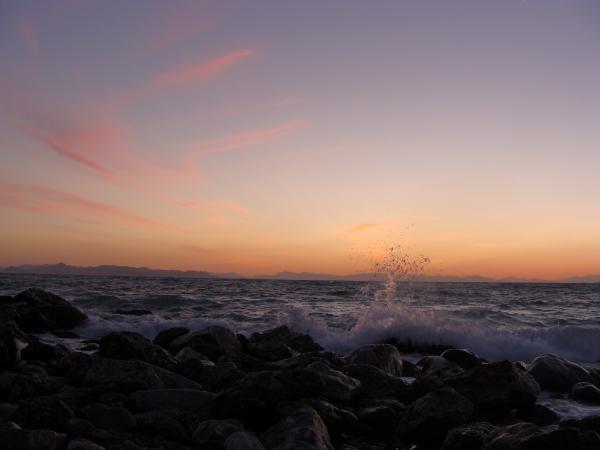Закат. Галифада.