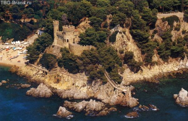 крепость в Ллорет де Мар