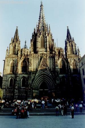 Главный кафедральный собор Барселоны