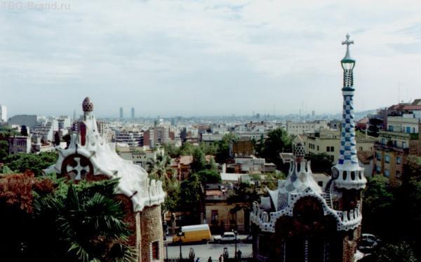 пряничные крыши парка Гуэль