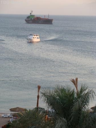 Акаба. Интерконтиненталь 5*. Вид на море.