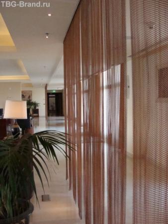 Холл на 5 этаже. Интерконтиненталь 5*.