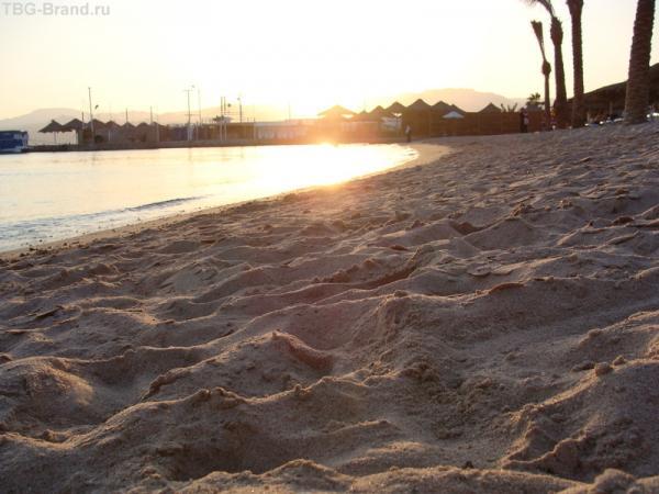 Закат в заливе Акабы...