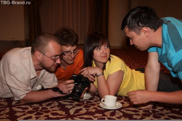 Конференция. Тоже.. дебаты.. :) (фото Aleksandrina.com)