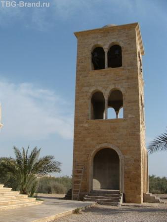 р.Иордан, Место крещения Христа