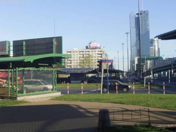 Варшава, окрестности района вокзала