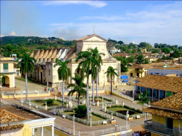 Тринидад. Главная приходская церковь