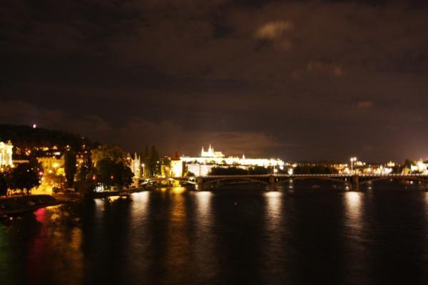 Ночная Прага. Влтава