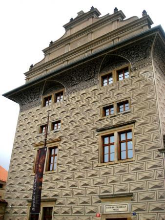 Здание в стиле граффито