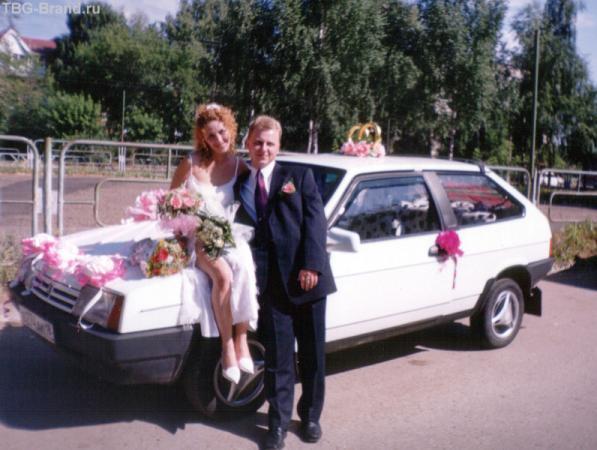 А вот и наш свадебный транспорт