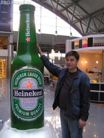 Такая бутылочка пива с похмелья не помешает...