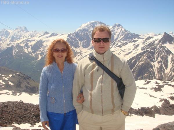 Эльбрус, 3800 м