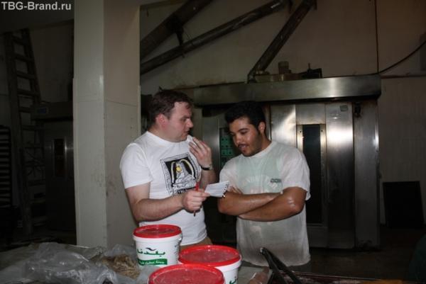 Мастер-класс в булочной