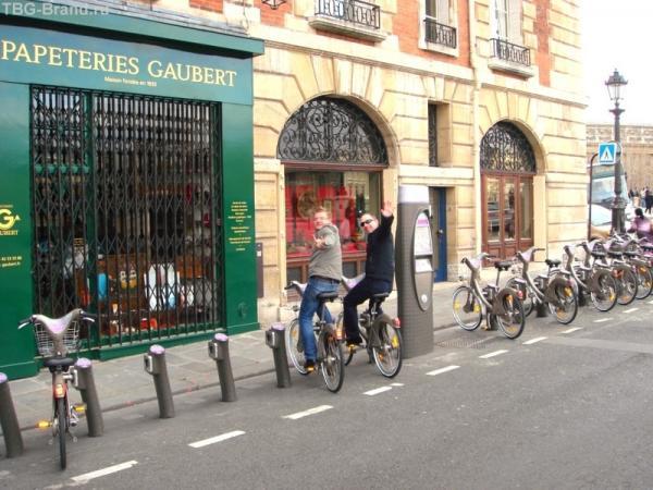Велопарковки в Париже