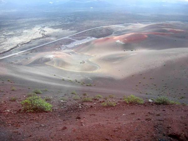 Это - не марсианский пейзаж. Это - Лансароте!