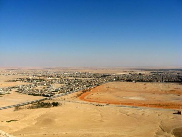 Сирия. Пальмира. Вид сверху.