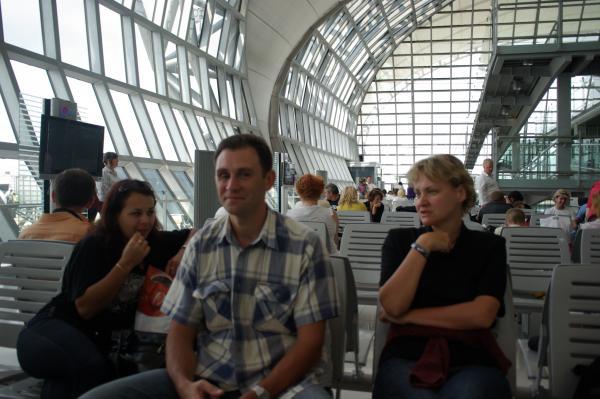 В ожидании рейса Бангкок - Москва