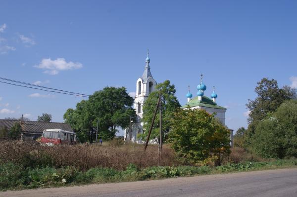 Церковь перед Калязиным