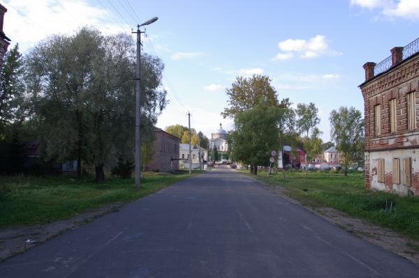 Первая улица Мышкина