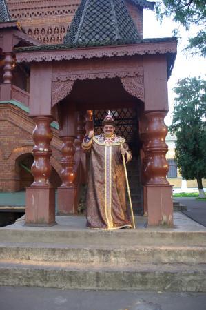 У царских палат