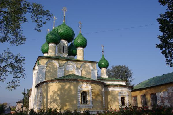 Церковь Алексеевского монастыря